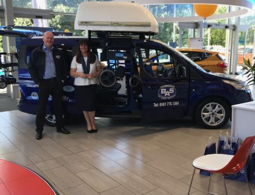 BAS at Evans Halshaw Motability Event