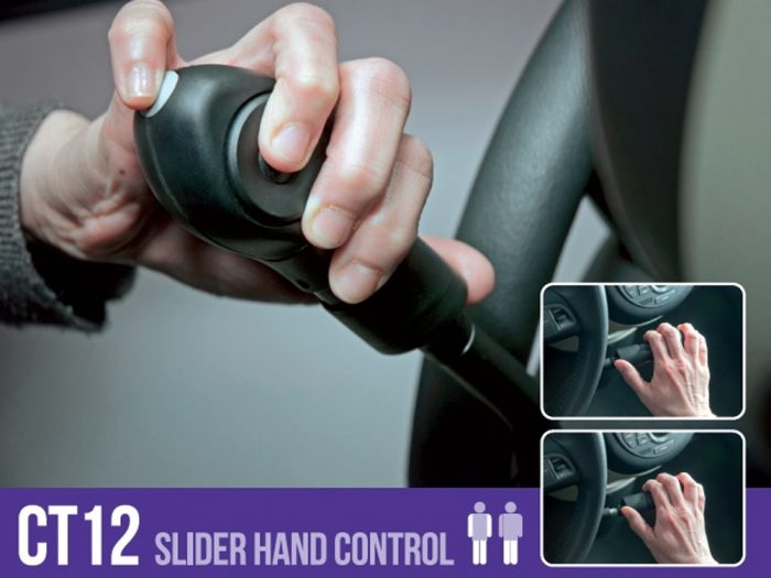 Autoadapt by Elap - CT12 Slider Hand Control and Mechanical Brake