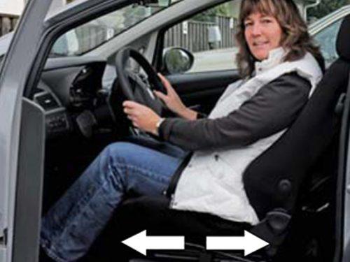Invacar Electric Seat Rails