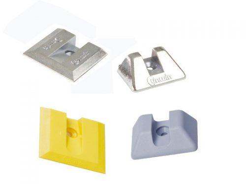 Unwin - Plastic End Cap for Low Profile Rail
