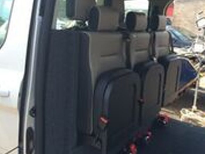Scotseat - Rear Facing Flip-Up Seats (Taxi Bulkhead Seats)