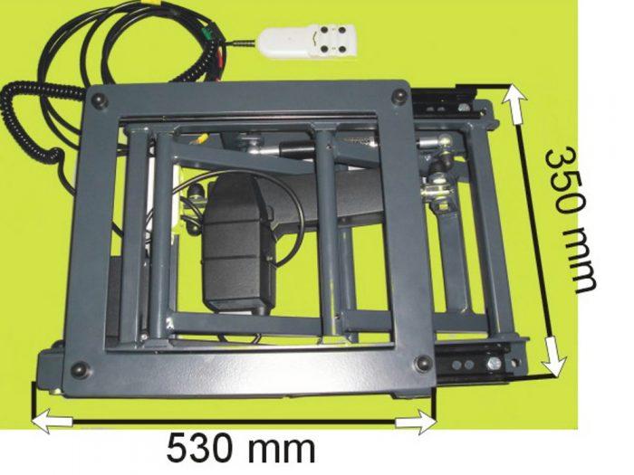 Invacar 4 Function Seat Base
