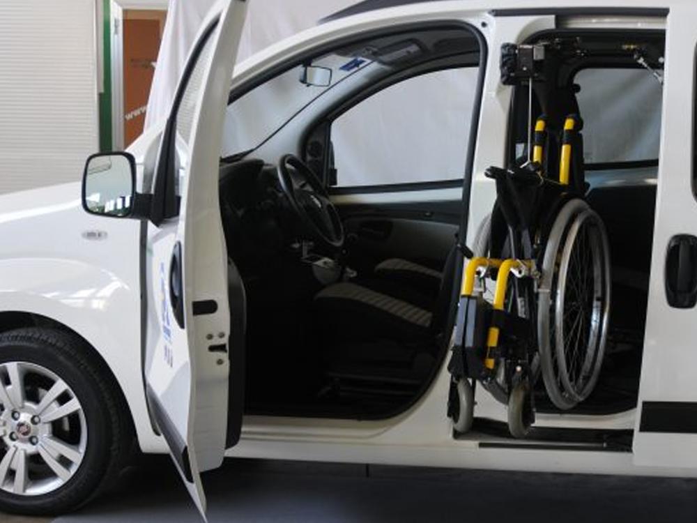 Handytech Wheelchair Hoist (Side Door)